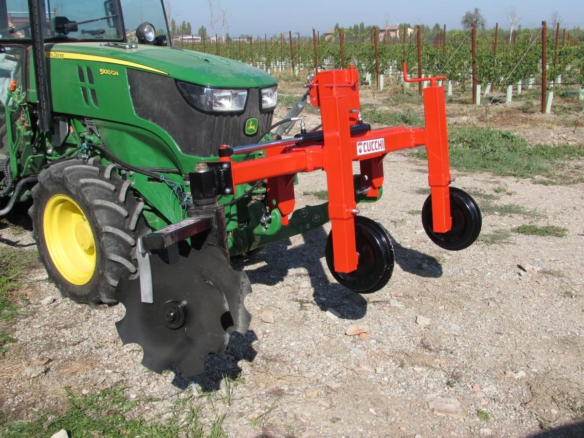 Telaio porta attrezzi interceppi cucchi macchine agricole for Telaio porta
